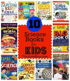 Top Science Books for Kids - The Joys of Boys