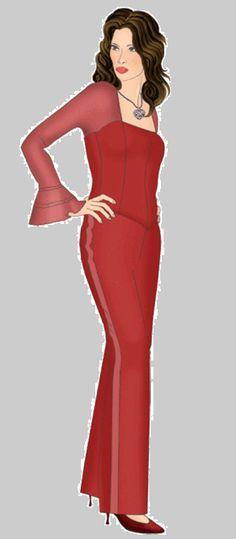 bdbd07c3a Blouse with chiffon sleeves example - Blouse with chiffon sleeves  Difficulty: ** You will need: chiffon, silk, 1 zipper, decorative braid.