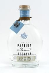 Partida Blanco Tequila     Flavors of citrus, fresh herbs, and tropical fruits linger on the palate. This is a remarkably crisp, very pleasant tequila.   $49.99