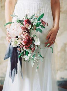 Floral Design: Jessica Sloane & Melissa Broadwell of Vintage Florals I Austin Gros photography