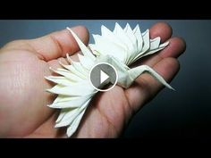 Feathered Tsuru Origami Tutorial (Riccardo Foschi) - isabella home Origami Design, Instruções Origami, Origami Simple, Origami Star Box, Origami Dragon, Origami Butterfly, Paper Crafts Origami, Origami Lampshade, Origami Birds