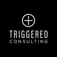 Modern clean logo design for Triggered Consulting NZ by Case In Point Design Studio. Business Branding, Logo Branding, Logos, Graphic Design Branding, Logo Design, Consulting Logo, Showcase Design, Service Design, Signage