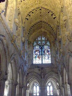 The Chapel of Templars ~ Rosslyn, Edinburgh, Scotland
