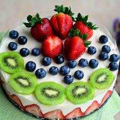Fruit Salad Cake, Recipe & Hot To Prepare. | Cooking Galaxy