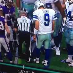 Tony Romo got sneaky. | The 89 Funniest Sports GIFs Of 2013