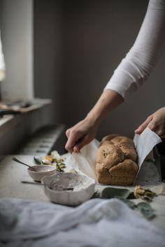 Pumpkin Sourdough Toast Bread | Hortus Natural Cooking