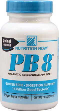 Nutrition Now PB 8® Pro-Biotic Acidophilus For Life™ -- 14 billion - 120 Capsules