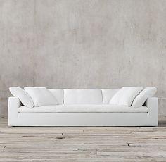 Living Room Sofa, Apartment Living, Living Area, Floor Decor And More, Beach Condo, Fabric Sofa, New Furniture, Slipcovers, Sofas