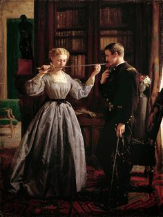 George Cochran Lambdin - The Consecration [1861]  #19th #Classic #George #Cochran #Lambdin #Painting