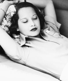 Merle Oberon takes a nap between scenes of The Dark Angel (1935)