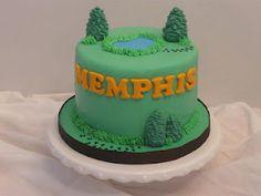 Simple little Hunting fan's Birthday cake :)