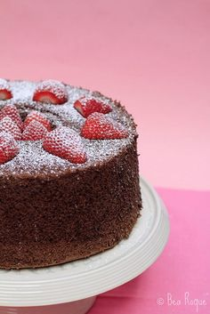 Chocolate Chiffon Cake by Bea Roque, via Flickr