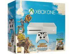 MICROSOFT Xbox One 500GB Fehér + Sunset Overdrive