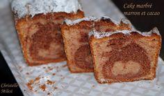 Cake marbré marron et cacao : la recette facile