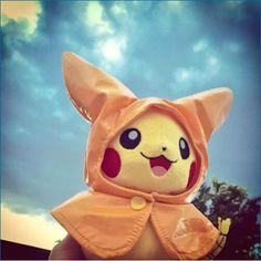How love this Rare pokemon . It's starting to rain outside, fortunately, i've got my raincoat ready  buy Pokemon GO StarDust on gold4fans.com #pokémon #pokemon #PokemonCenter #Pokémongo #Pikachu