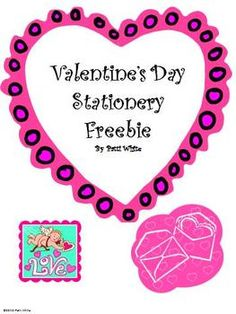 Your students will love using this Valentine's stationery to write a letter to their favorite valentine. It comes with a selection of two different...