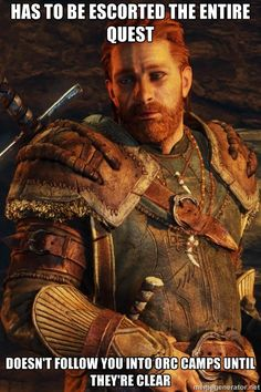 Hirgon of Tarnost is a character in Middle-earth: Shadow of Mordor. He is a former Ranger of Gondor, and currently the leader of the Outcasts. Fantasy Rpg, Medieval Fantasy, Fantasy World, Dark Fantasy, Middle Earth Shadow, Blood Hunter, Shadow Of Mordor, Wow Video, Darkest Dungeon
