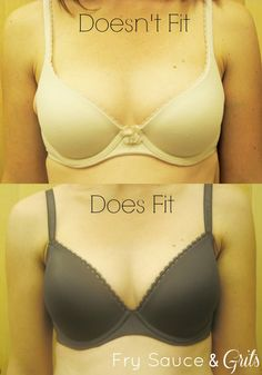 Learn how bra sizing works from this very informative post from FrySauceandGrits.com #bra #sizing #braguide #fashion