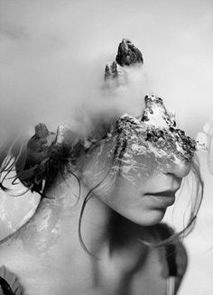 ART: Dreamy Portrait Series by Antonio Mora Spanish-based artist Antonio Mora, also known as mylovt, uses the web to craft his surreal works. He looks through online databases and finds images that he later combines into unconventional portraits. Double Exposure Photography, Abstract Photography, Creative Photography, White Photography, Portrait Photography, Levitation Photography, Experimental Photography, Artistic Photography, Double Exposure Portraits