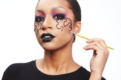 Pin for Later: 10 Halloween Makeup Hacks That Will Save You Major Money Halloween Hack #10: 3D Veins That Pop