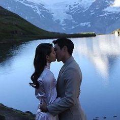 Celebrity Couple Costumes, Celebrity Couples, Thai Princess, Sad Anime Quotes, Delete Image, Image Title, Media Images, Sweet Couple, Drama Movies