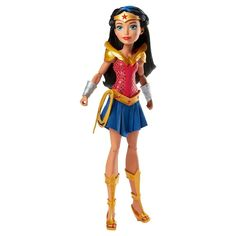 DC Super Hero Girls' Wonder Woman Of Themyscira Action Doll