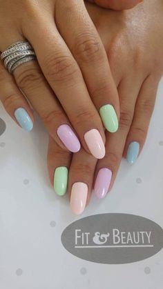 Nail Color 50 cutest and lightest bright colorful nail idea - each nail with different . 50 cutest and lightest bright colorful nail idea - each nail with different . Acrylic Nails Stiletto, Best Acrylic Nails, Summer Acrylic Nails, Acrylic Nail Designs, Spring Nails, Summer Nails, Nail Colors For Spring, Nail Designs For Spring, Pretty Nails For Summer