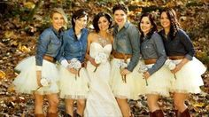 This is cute but I would use it for something like a Bridal Party photoshoot prior to the wedding