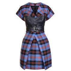 McQ Alexander McQueen | Tartan Mini Dress