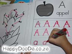 Homeschool: Grade R - Week 3 - Happy Doo-Da - Me and my family Home Schooling, Afrikaans, Kids Education, Thats Not My, Homeschool, Classroom, Printables, Digital, Happy