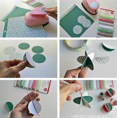 DIY adornos navideños de papel | DIY Christmas decoration