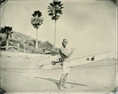Old surfing photo