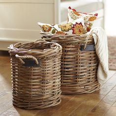 Birch Lane Round Handled Basket