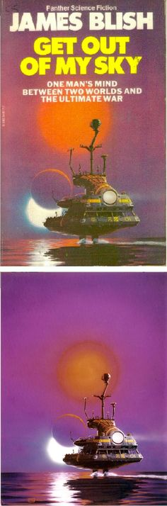 PETER ELSON - Get Out of My Sky by James Blish - 1980 Panther Books - cover by isfdb - print by returntofleet.com