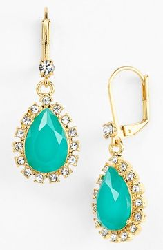 Turquoise drops by kate spade new york