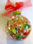 Search and find Christmas ornament - DIY