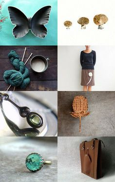 Teal goes natural by Raceytay on Etsy--Pinned with TreasuryPin.com