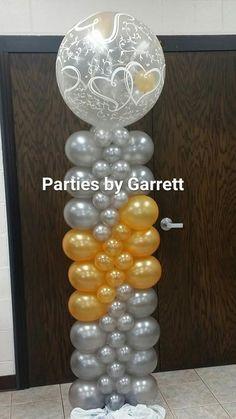 Balloon Tower, Balloon Stands, Love Balloon, Red Balloon, Balloon Arch, Ballon Column, Columns Decor, Wedding Columns, Deco Ballon