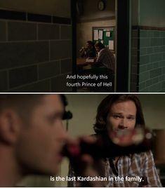 Dean's hilarious like always