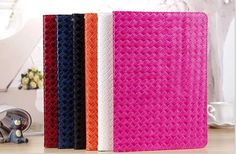Woven Pattern Folio Stand Slim Leather Smart Case Cover For iPad 3 4 5 Air 1 2 #UnbrandedGeneric