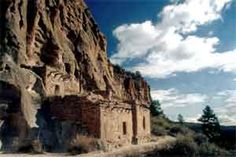 Photo of ruins at Bandelier National Monument