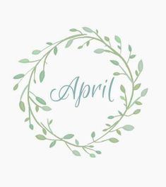 Welcome to Nature-and Culture (since ! There are 75 pieces of music to listen to, and you can. April April, April Easter, April Fools Day, Calendar Quotes, Bullet Journal Junkies, Bullet Journals, Piece Of Music, Hoppy Easter, April Showers