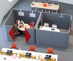 Acoustic Pods for Meetings