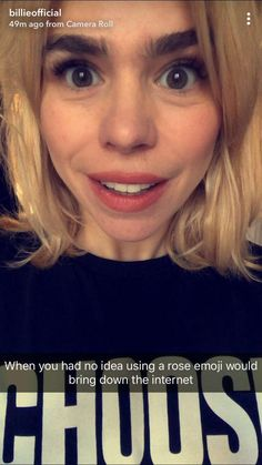 Of course Billie Piper using a Rose will make the internet crash and burn.