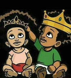 mtg rhemiwinning Ft Baby J x Flairre x IT TIME by ryan board Cartoon Kunst, Cartoon Art, Black Cartoon, Black Power, Queen Drawing, Black King And Queen, American Cartoons, We The Kings, Natural Hair Art