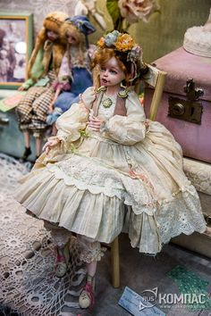 "Коллекция ""Бабушкин сундочок"". Фотография. Альбом: XI Международный Салон кукол на Тишинке / РусКомпас"