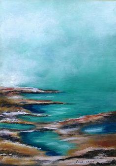 Acrylic painting - Kruela 2015