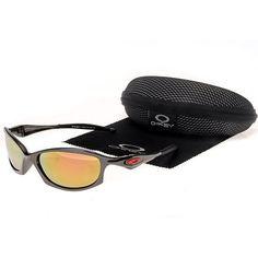 c81b901c80 Deal Extreme Oakley Half X Sunglasses Black Frame Yellow Lens CHEAP!