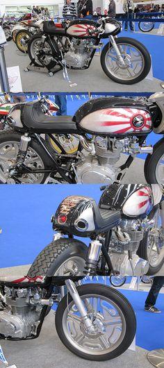 Kruggers Honda Cafe #AMD #custombikeworldchampionship #caferacer http://caferacer-manufacture.com/pl/galerie/
