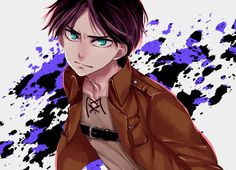 Attack on Titan ~~ Eren looks conflicted here.